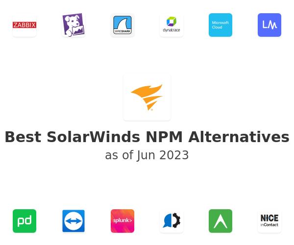 Best SolarWinds NPM Alternatives