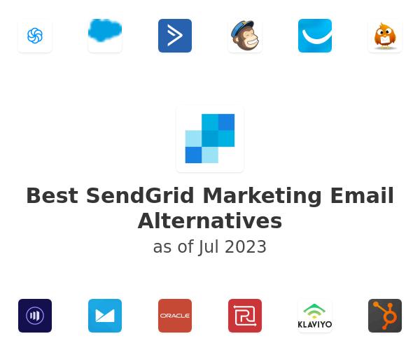 Best SendGrid Marketing Email Alternatives