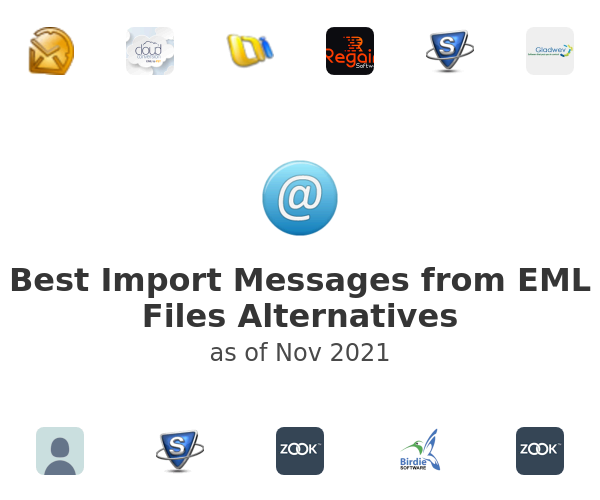 Best Import Messages from EML Files Alternatives