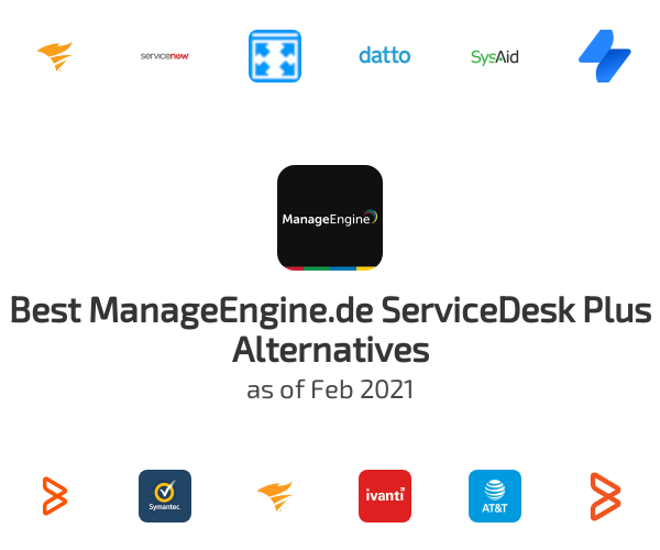 Best ServiceDesk Plus Alternatives