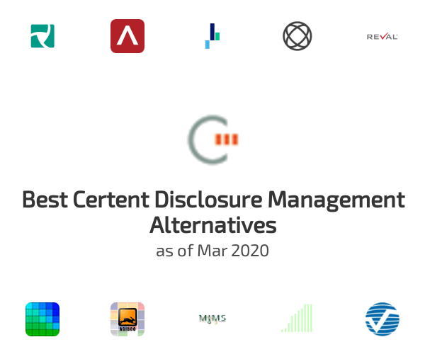 Best Certent Disclosure Management Alternatives