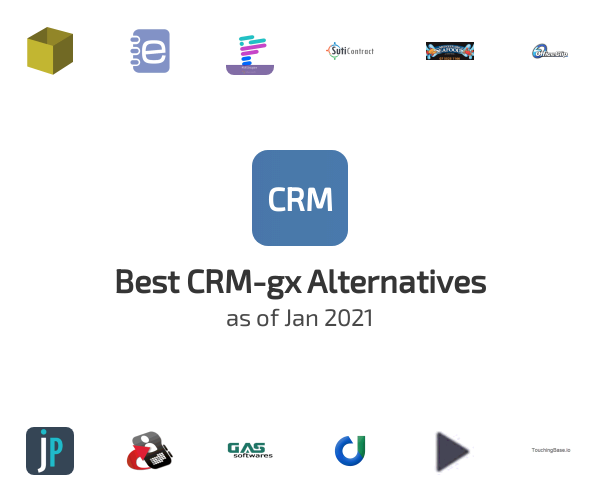 Best CRM-gx Alternatives