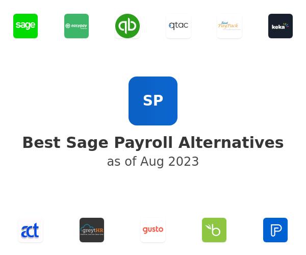 Best Sage Payroll Alternatives