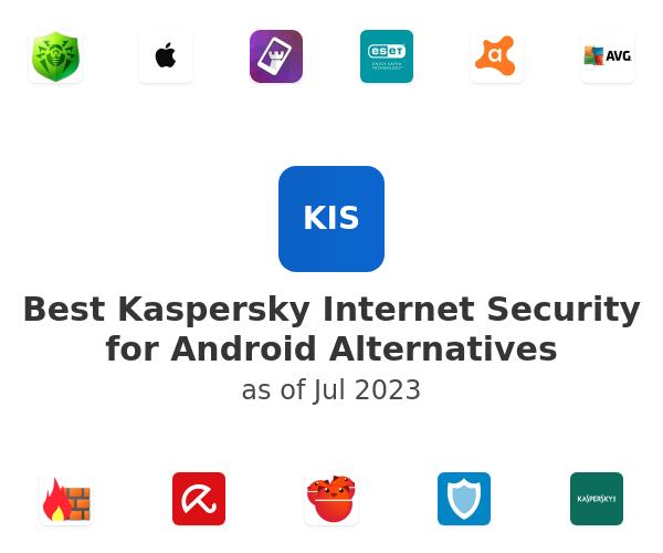 Best Kaspersky Internet Security for Android Alternatives