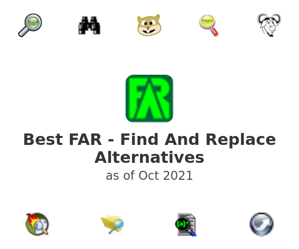 Best FAR - Find And Replace Alternatives