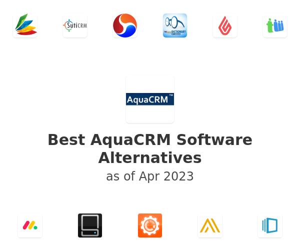 Best AquaCRM Software Alternatives