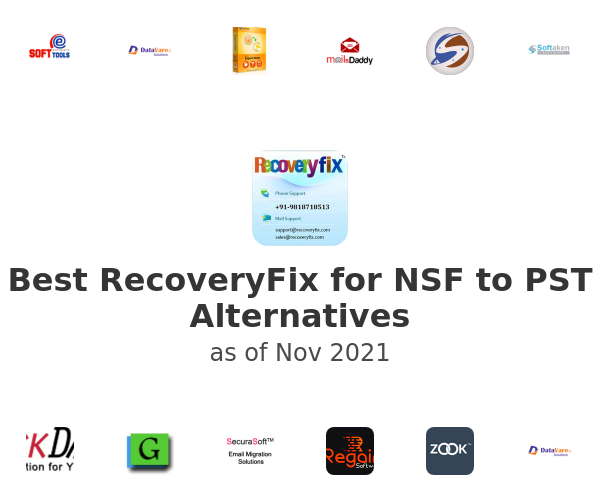 Best RecoveryFix for NSF to PST Alternatives