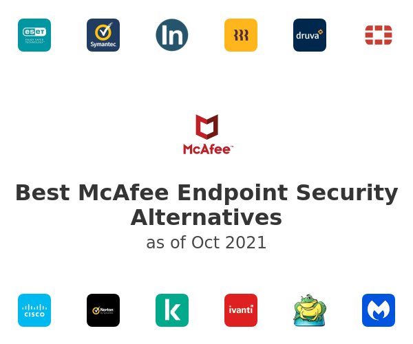 Best McAfee Endpoint Security Alternatives
