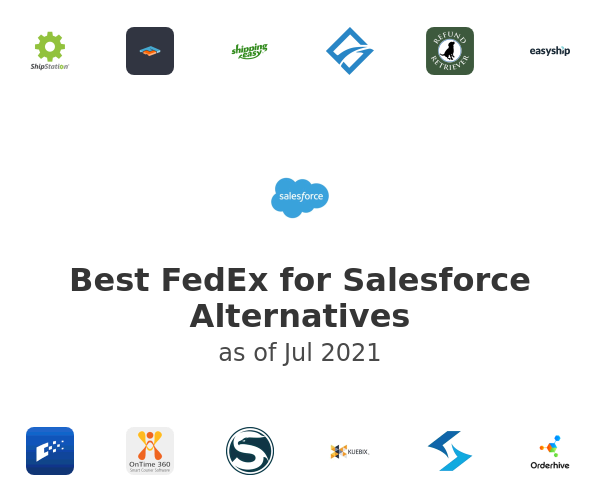 Best FedEx for Salesforce Alternatives