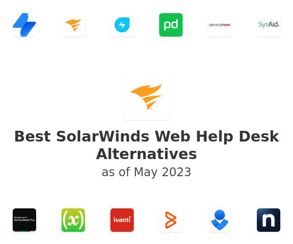 Best SolarWinds Web Help Desk Alternatives