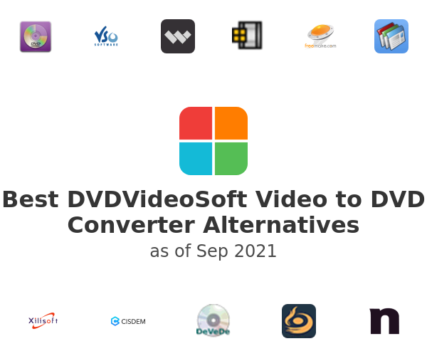 Best Free Video to DVD Converter Alternatives