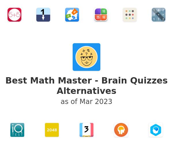 Best Math Master - Brain Quizzes Alternatives