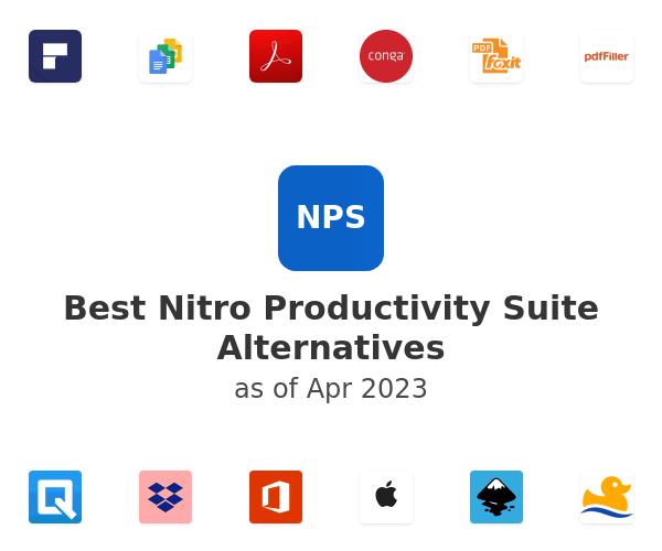 Best Nitro Productivity Suite Alternatives