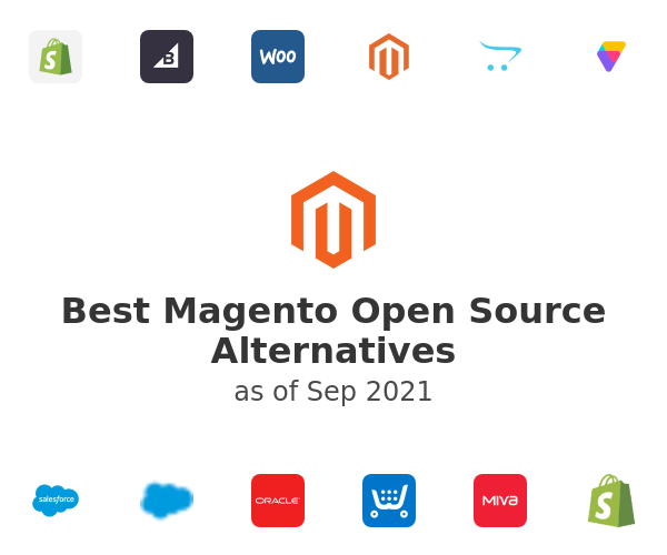 Best Magento Open Source Alternatives