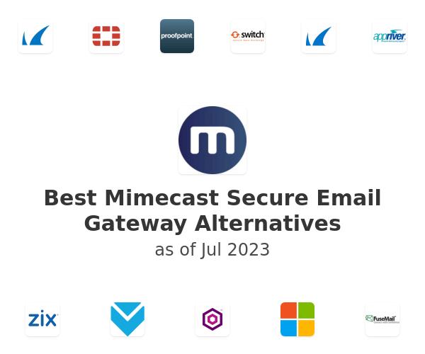 Best Mimecast Secure Email Gateway Alternatives