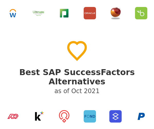 Best SAP SuccessFactors Alternatives