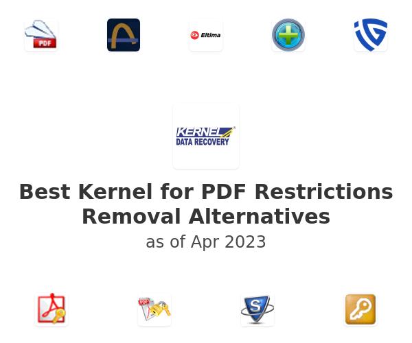 Best Kernel for PDF Restrictions Removal Alternatives