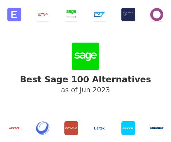 Best Sage 100 Alternatives