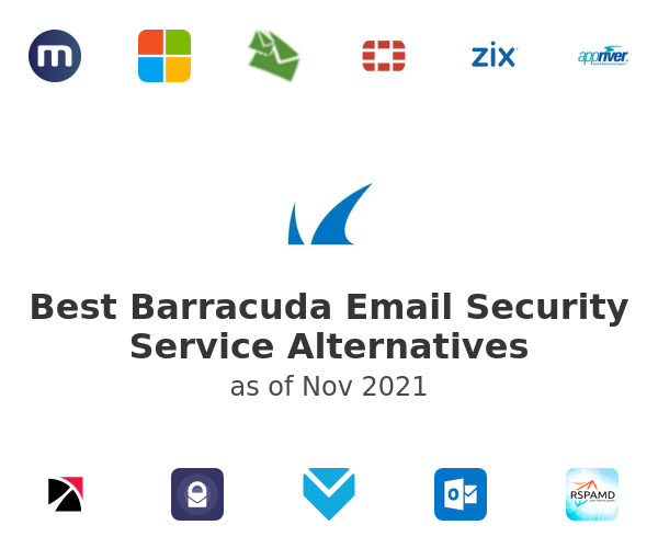 Best Barracuda Email Security Service Alternatives