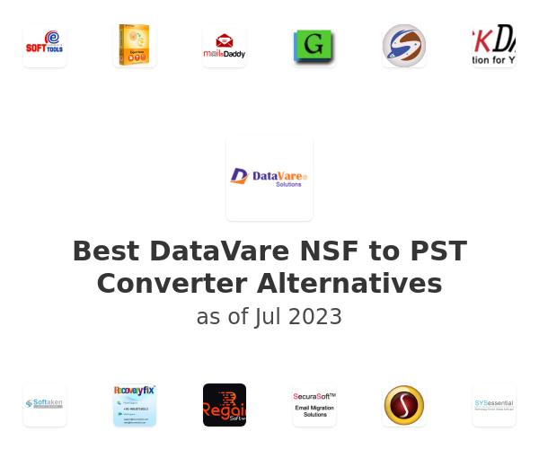 Best DataVare NSF to PST Converter Alternatives