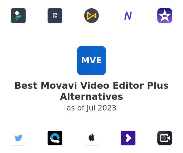 Best Movavi Video Editor Plus Alternatives