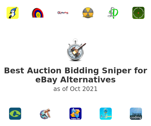 Best Auction Bidding Sniper for eBay Alternatives