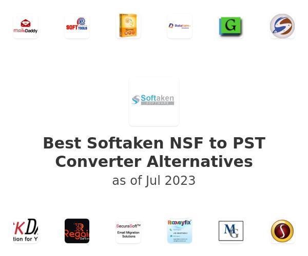 Best Softaken NSF to PST Converter Alternatives