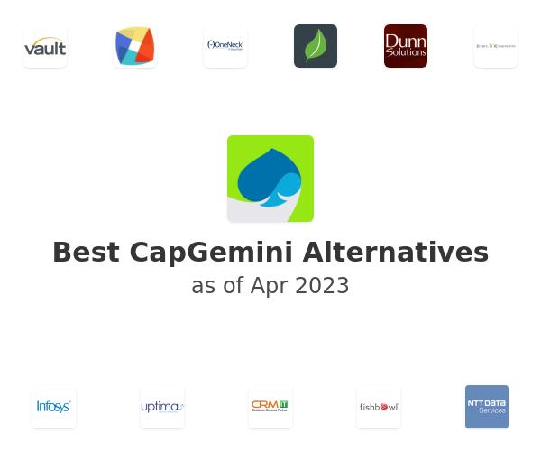 Best CapGemini Alternatives