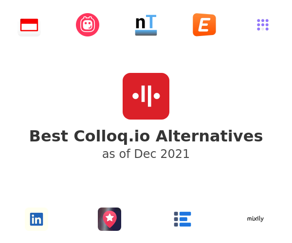 Best Colloq.io Alternatives