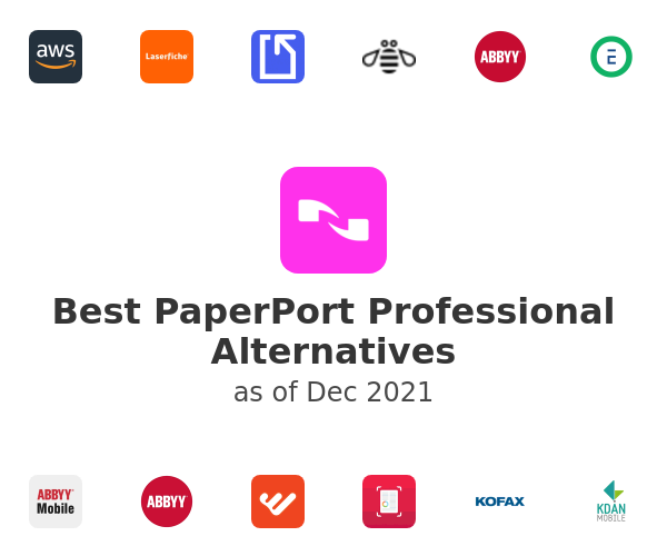 Best PaperPort Professional Alternatives