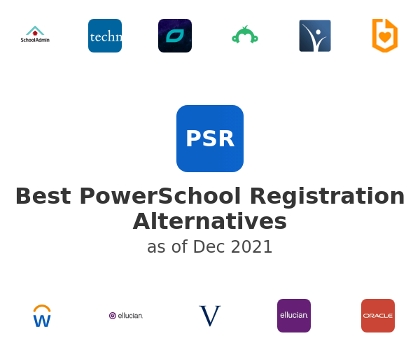 Best PowerSchool Registration Alternatives