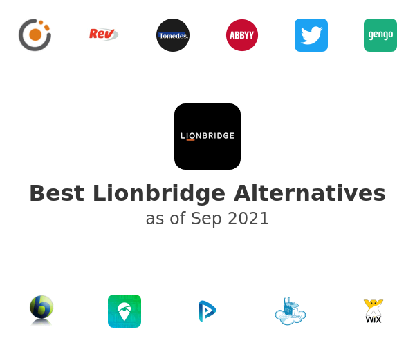 Best Lionbridge Alternatives