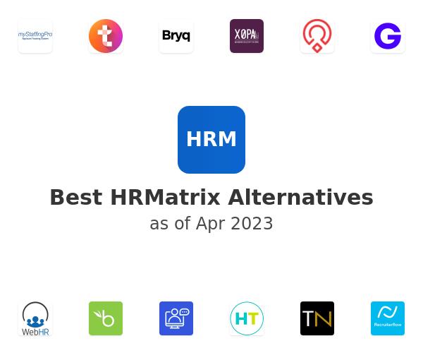 Best HRMatrix Alternatives
