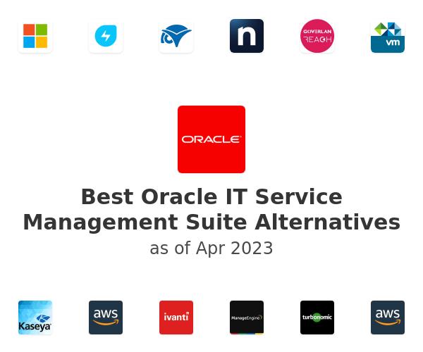 Best Oracle IT Service Management Suite Alternatives