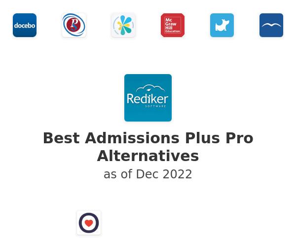 Best Admissions Plus Pro Alternatives