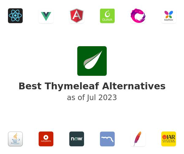 Best Thymeleaf Alternatives