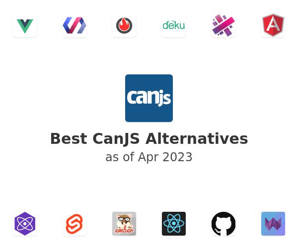 Best CanJS Alternatives