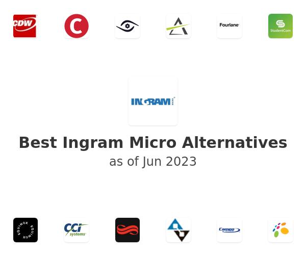 Best Ingram Micro Alternatives