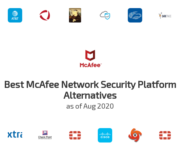 Best McAfee Network Security Platform Alternatives