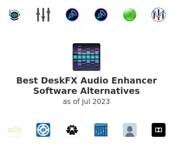 Best DeskFX Audio Enhancer Software Alternatives