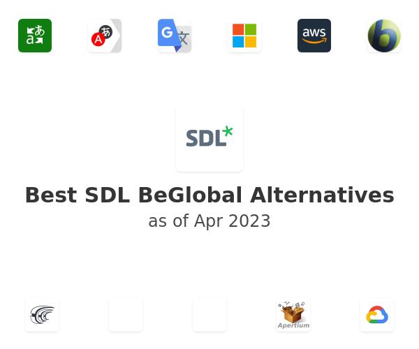 Best SDL BeGlobal Alternatives