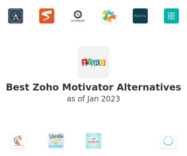 Best Zoho Motivator Alternatives