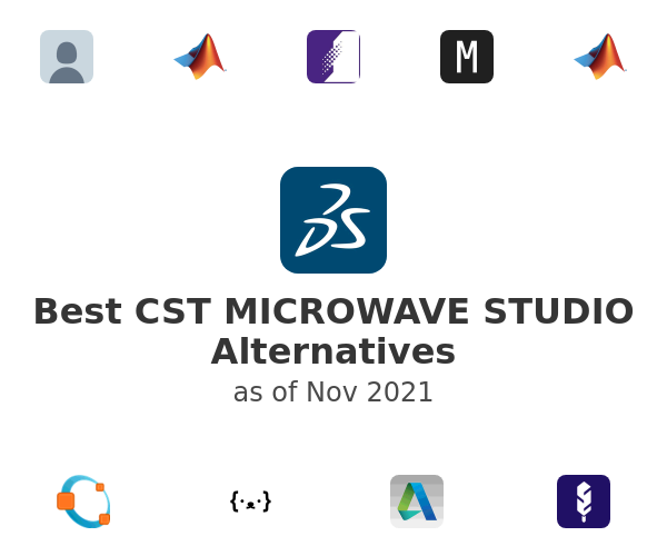 Best CST MICROWAVE STUDIO Alternatives