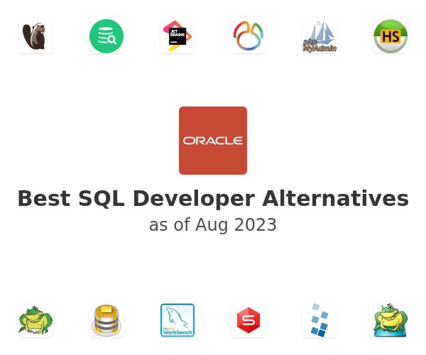 Best SQL Developer Alternatives