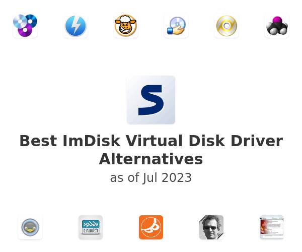 Best ImDisk Virtual Disk Driver Alternatives