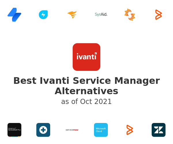 Best Ivanti Service Manager Alternatives
