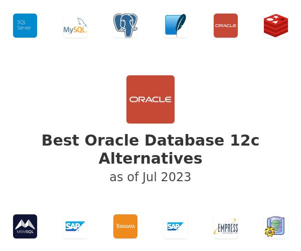 Best Oracle Database 12c Alternatives