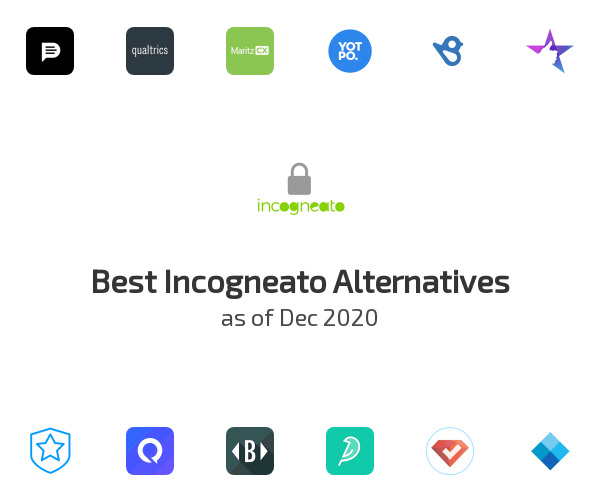 Best Incogneato Alternatives