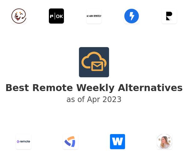 Best Remote Weekly Alternatives