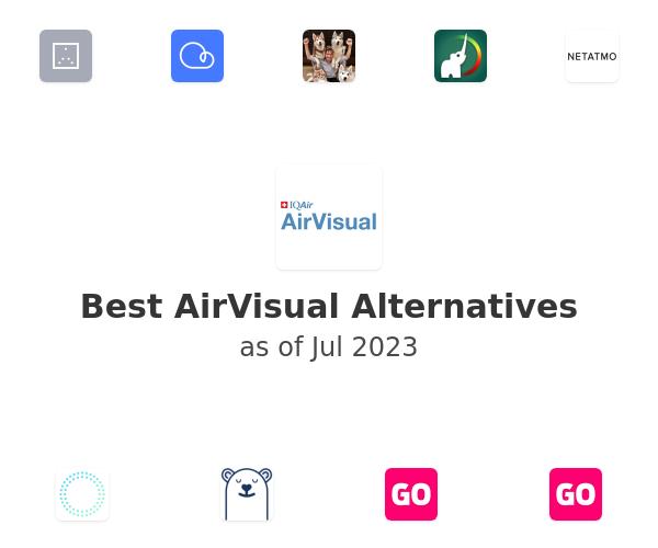 Best AirVisual Alternatives